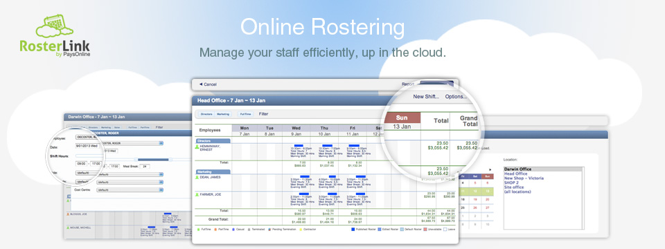 online rostering | payroll outsourcing paysonline